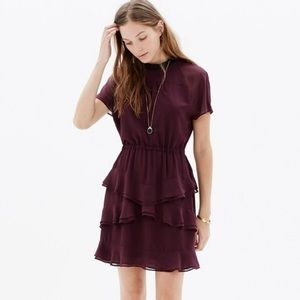 NWT Madewell | Radiant Dress in Maroon